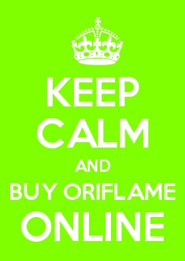 KEEP CALM AND BUY ORIFLAME ONLINE