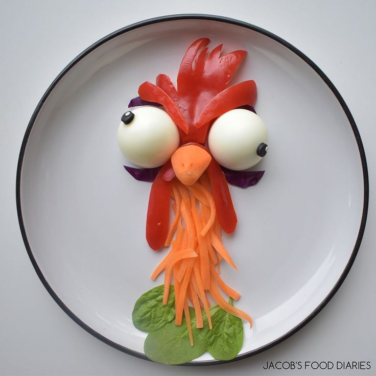 Hei Hei from Moana by JACOB'S FOOD DIARIES (@jacobs_food_diaries)