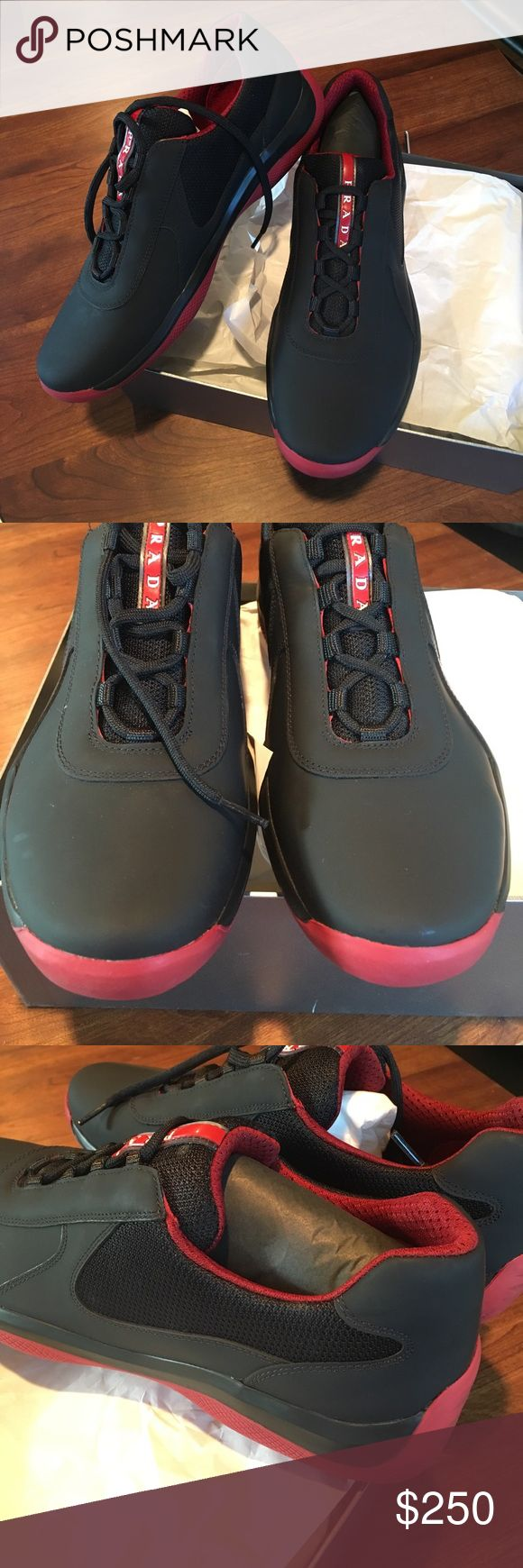 Prada Men's Punta Ala sneakers. NWT. Never worn. Prada Punta Ala trainers with dust bag. NWT. Never worn. Prada Shoes Sneakers