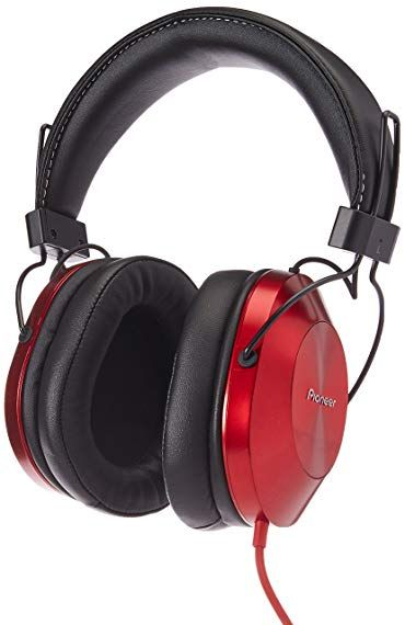 c45a460c7b8 Pioneer Hi-Res Over Ear Headphones, Red SE-MS5T(R) Review | Over-Ear ...
