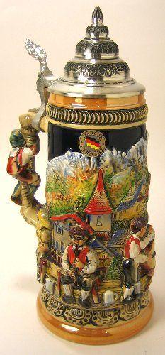 Alps Band German Beer Stein