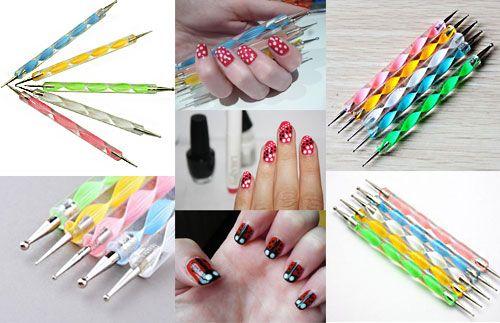 Kini Anda bisa menghias kuku Anda sendiri tanpa harus ke salon. Cukup gunakan Nail Art Dotting Pen ini, hanya Rp.36.000 #panoramagroup