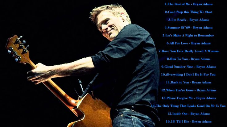 Bryan Adams Greatest Hits || The Best Songs Of Bryan Adams
