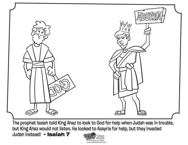 95 best images about kidmin coloring pages on pinterest for Isaiah told about jesus coloring page