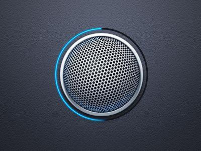 Voice Record Button