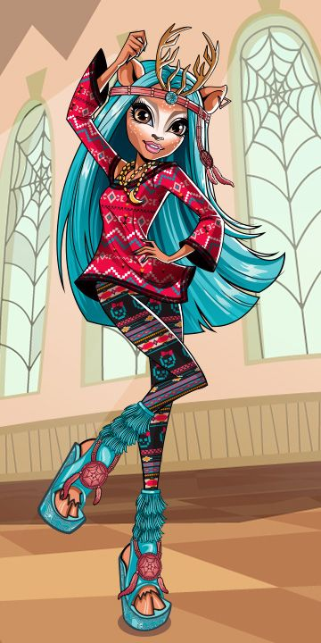 Isi Dawndancer, monster high official website