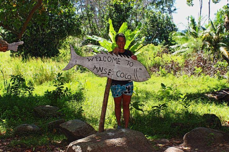 Pieczątki w paszporcie: Seszele - La Digue - Anse Coco - maj 2014