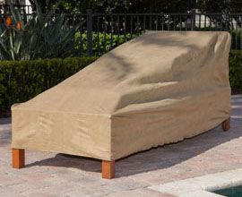 medium outdoor chaise lounge cover in classic nutmeg 30 off patio chaise lounge covers