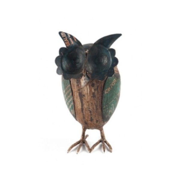Metal Owl Large - Owl Homewares Online