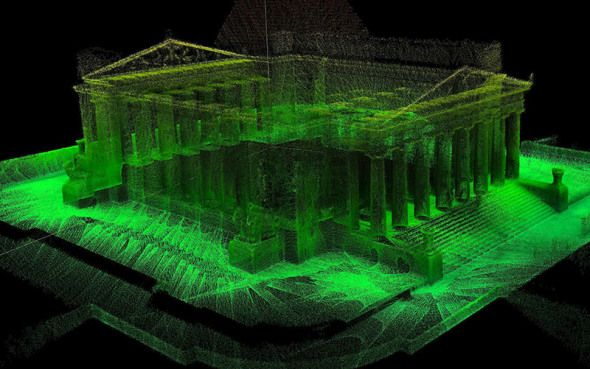 We've brought high tech to history by mapping the Shrine of Remembrance in Melbourne using our 3D laser scanner, Zebedee.