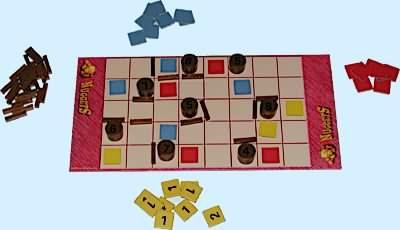 présentation du jeu de stratégie nuggets