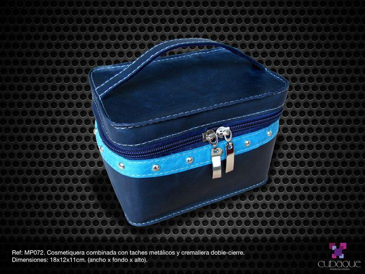 Cosmetiquera en cuero #handmade #bags #accesorios #hechoamano #leather #cuero #bolsos #cosmetiquera