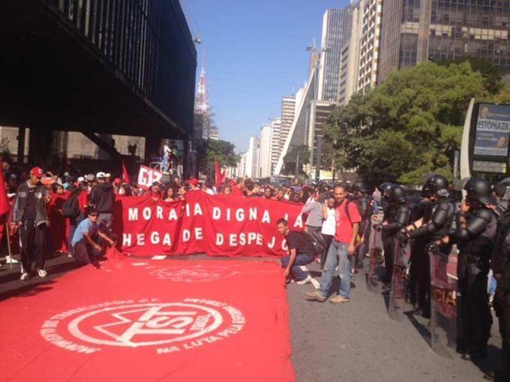 Manifestações em São Paulo