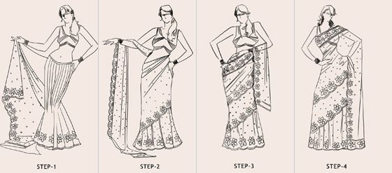You can now see and learn how to drape your #saree #sari innovatively.