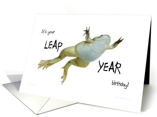 Funny Leap Year Birthday Quotes