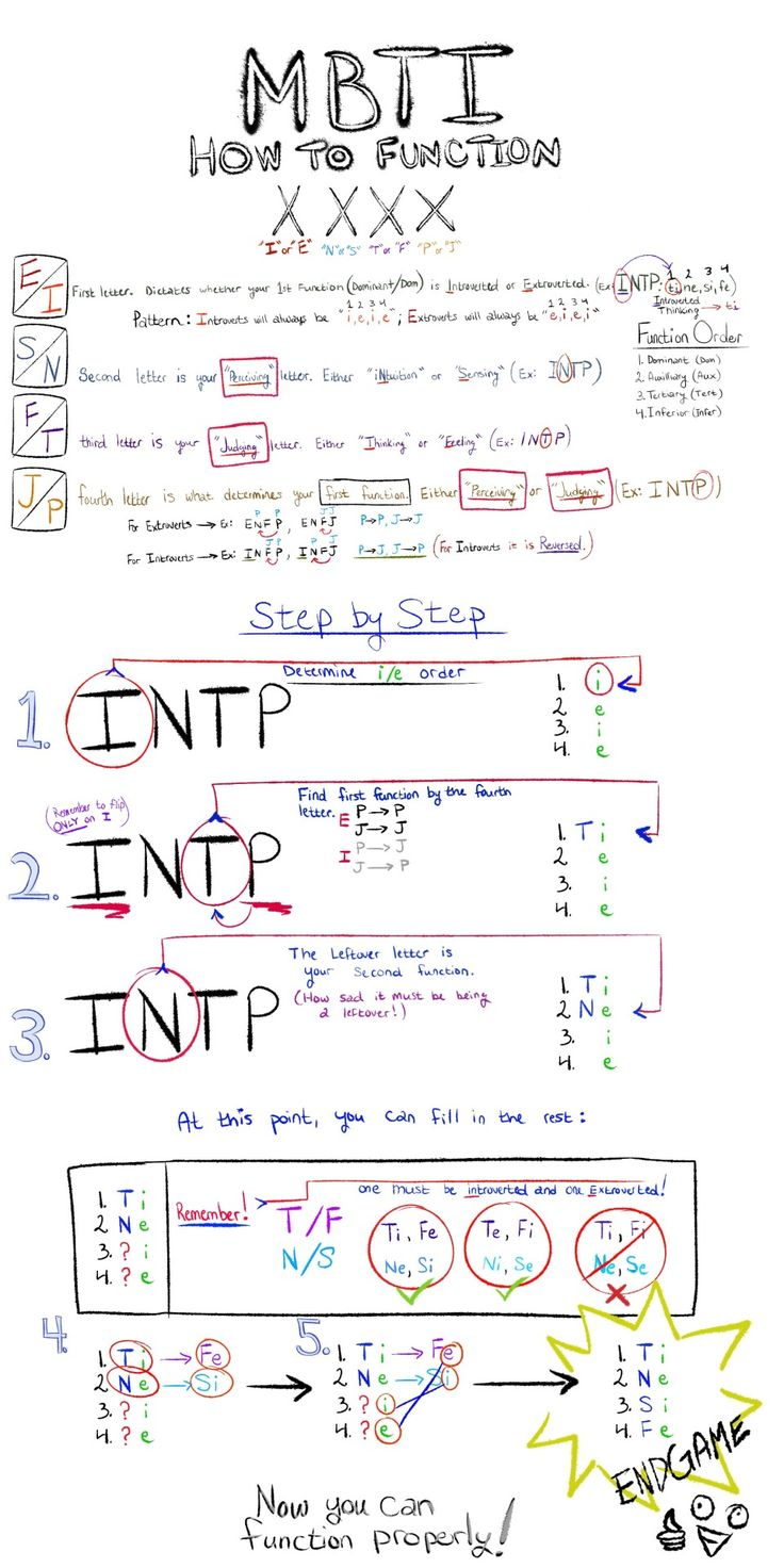 INTP: how to function
