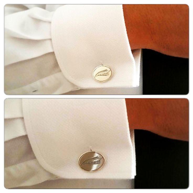 Colleras de Plata, diseño #allblacks #rugby #hechura #hechoamano / Silver Cufflinks, #allblacks #rugby #hechura #handmade