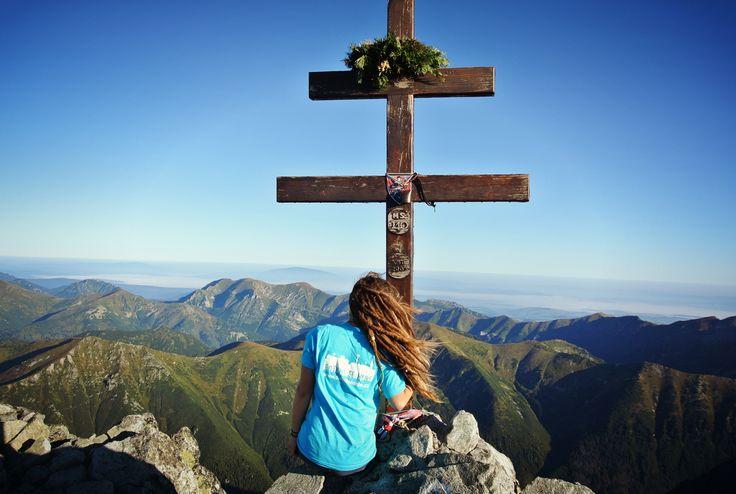 Kriváň 2494 m #mountains #hiking #HighTatras #Slovakia #sunrise #view #dreadlocks