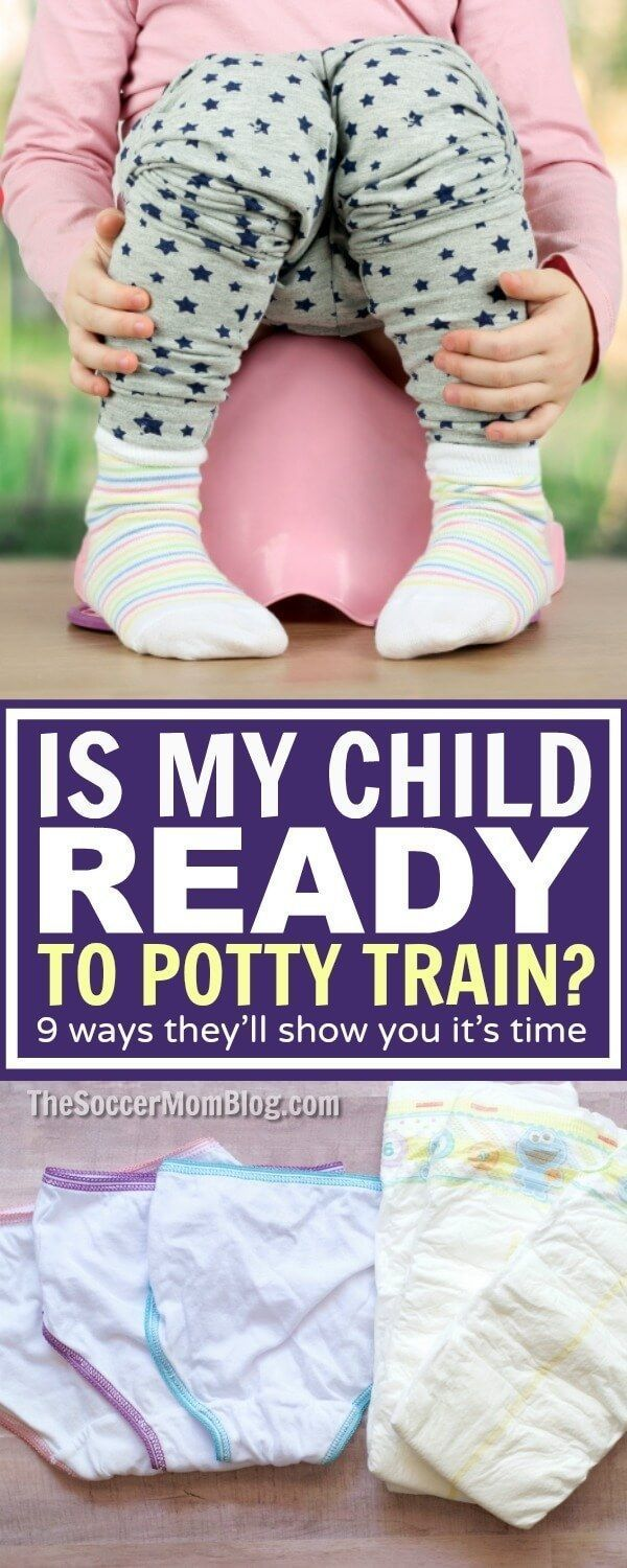 Is your child ready to start potty training? 9 physical & behavioral readiness clues, plus the one essential item to have on hand you might not expect! (ad)