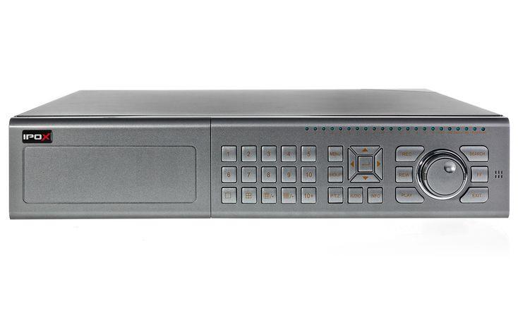 Rejestrator IPOX PX-DVR2516PD   Rejestratory DVR -  16x analog  400fps 8x HDD #cctv #recorder #dvr #ipox