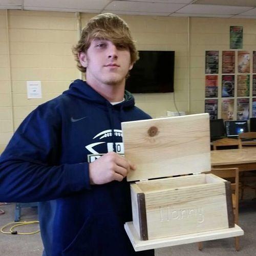 Great basic Ag mechanics woodworking project. Dora FFA - www.OneLessThing.net