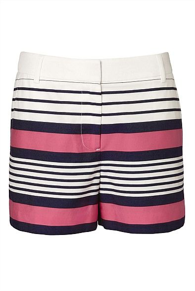 Jacquard Stripe Short