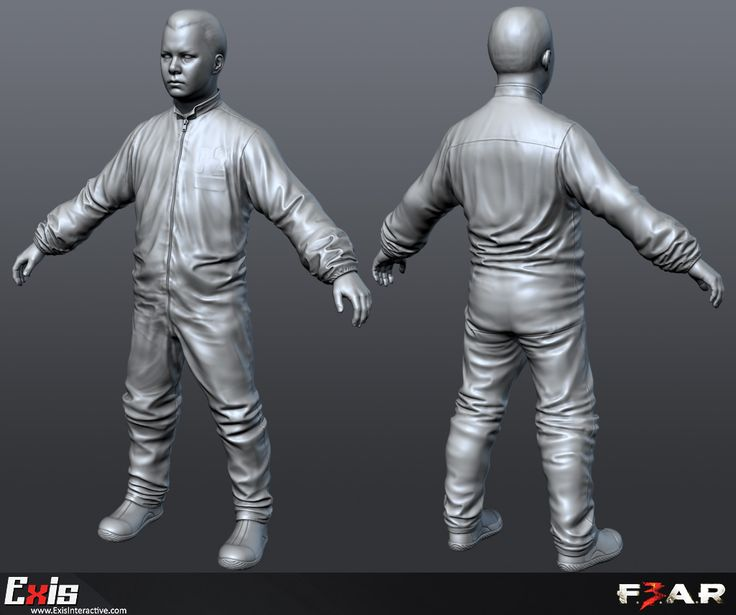Fear 3 Game art by Exis Interactive.