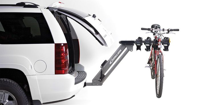 Softride Dura Assist Hitch-Mounted Bike Rack