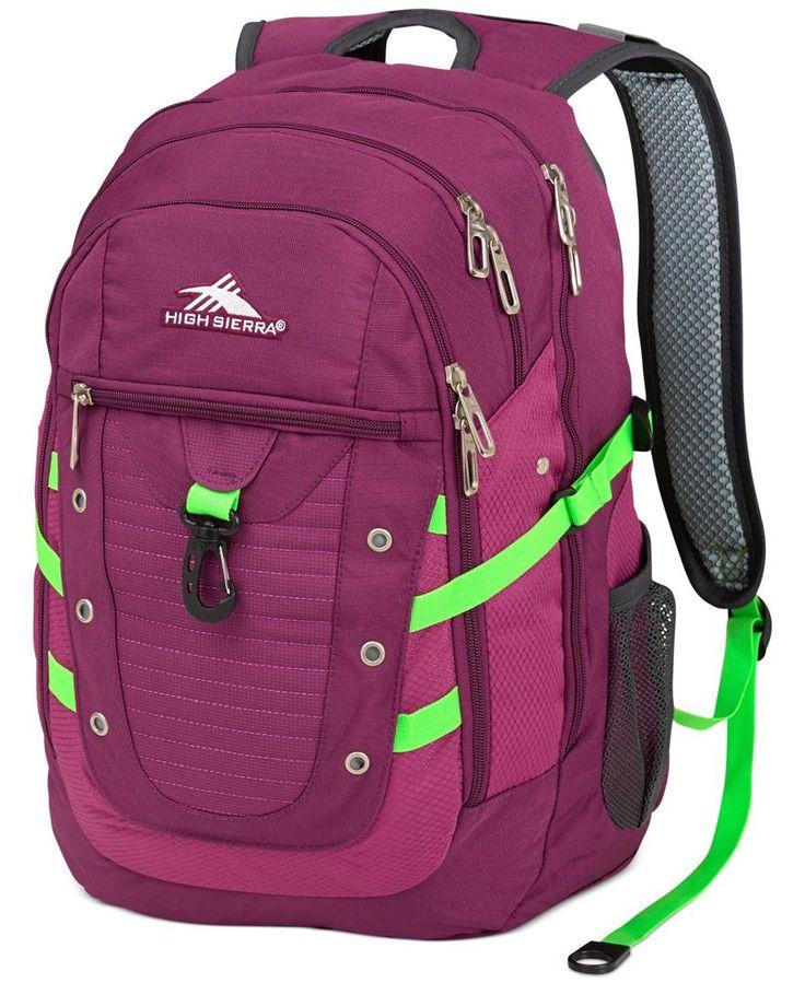 High Sierra Backpack, Tactic - Backpacks & Messenger Bags - luggage - Macy's