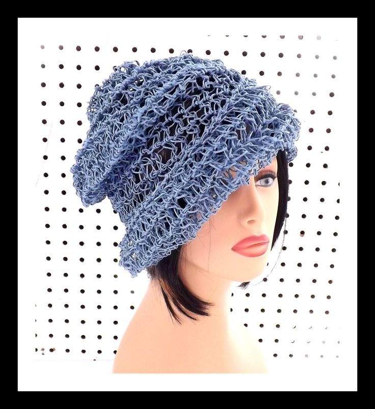 cheap authentic nike shoes Crochet Hat Womens Hat Womens Summer Hat Women OMBRETTA Crochet Beanie Hat Hemp Cord Hat Blue Hat Boho Hat by strawberrycouture on Etsy 45 00 USD