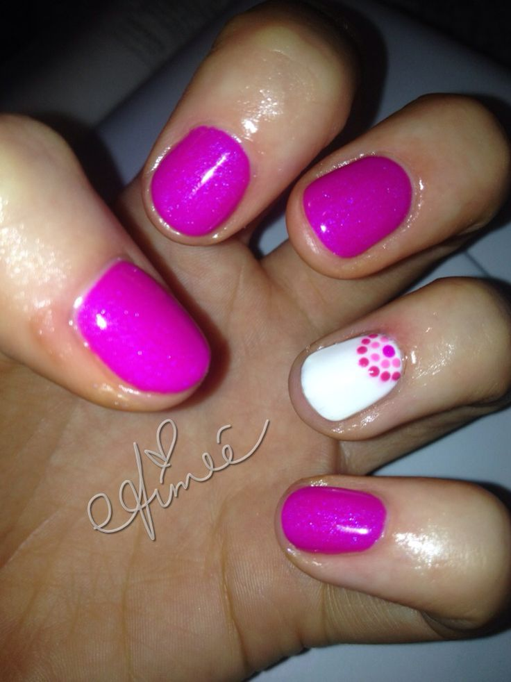 cute shellac nails ideas