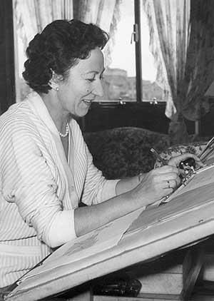 Matilde Ucelay (1912-2008) was the first female architect awarded the Spanish National Award of Architecture. RESPECT