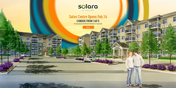 Solara at Skyview for Abbey Lane Homes - teaser website (Feb/2013)