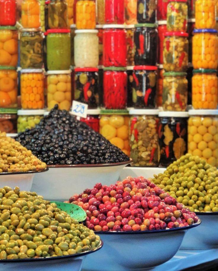 Marché aux olives, Marrakech - Maroc Des Goûts et des COULEURS © Charlotte Dumas
