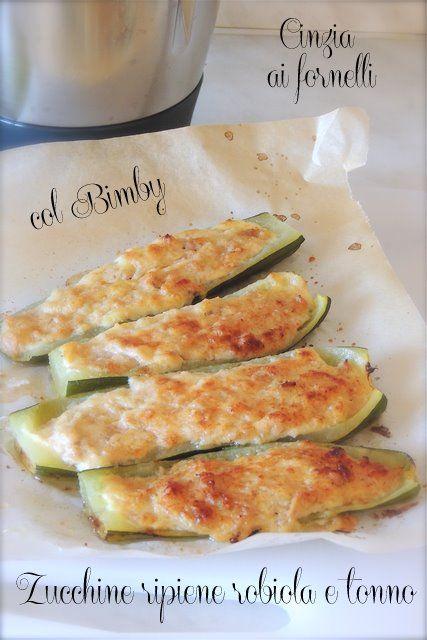 zucchine ripiene col bimby
