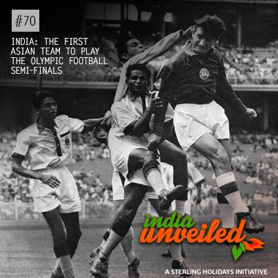 The Indian football teams that played between 1951 and 1962 are widely regarded as the golden generation of Indian football. Winning the 1951 and 1962 Asian Games, and finishing fourth in the 1956 Olympics, the Indian Football team was ranked in the top 30 teams of the world.  To download and read more India Unveiled stories, visit www.indiaunveiled.org