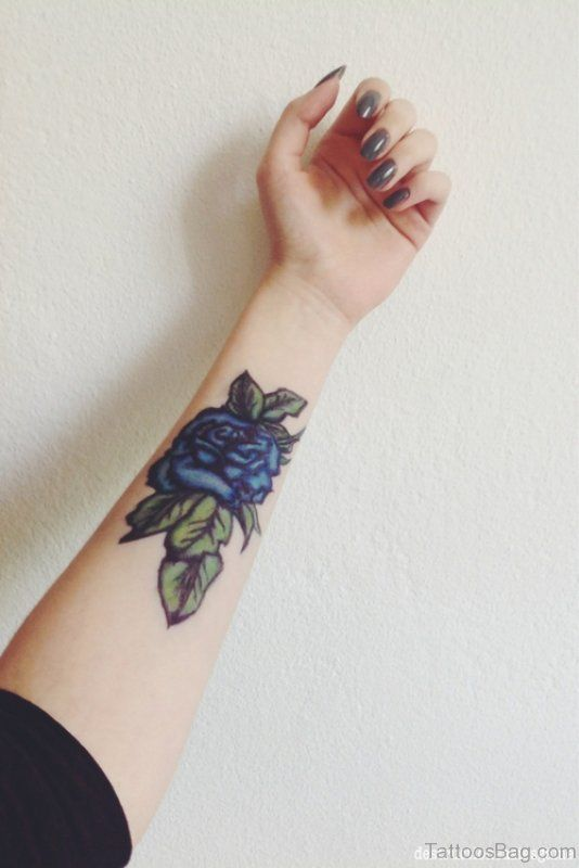Result of the picture for blue rose tattoo arm – – #Uncategorized