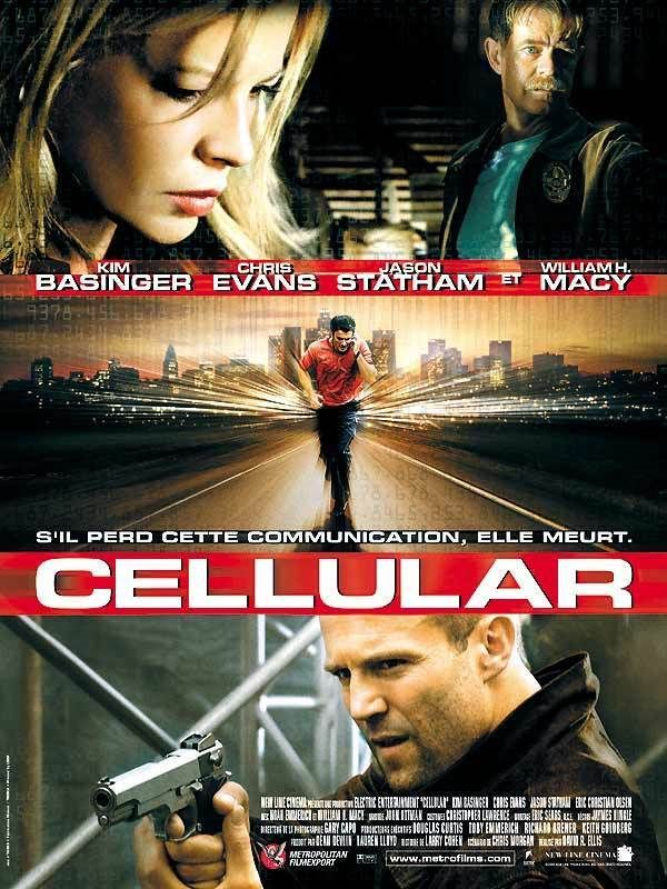 Cellular ou Le Cellulaire au Québec (Cellular) est un film américain réalisé par David R. Ellis, sorti en 2004. À Los Angeles, Jessica Martin, mariée et mère de famille est enlevée chez elle en pleine journée par des inconnus puis séquestrée dans le grenier d'une maison. Elle passe un appel téléphonique et tombe par hasard sur Ryan, un jeune homme d'une vingtaine d'années à qui elle demande de l'aide.