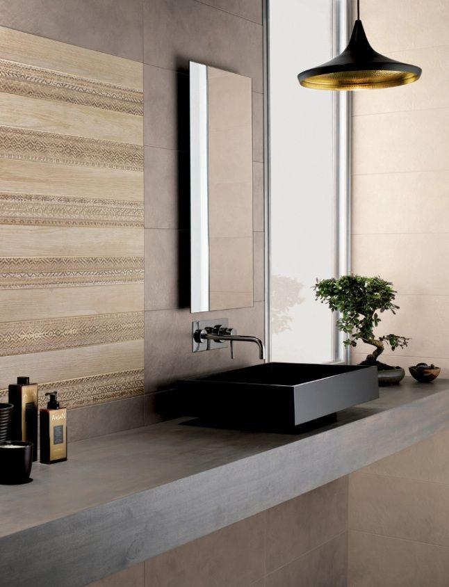 Question de style : Les salles de bains contemporaines aiment la nature