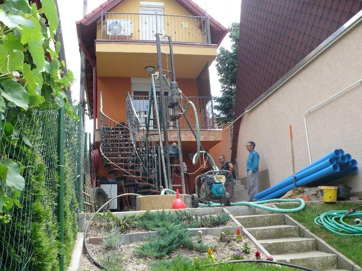 Többféle módszerrel is elvégezhető a kút fúrása.  http://kutfuro.eu/