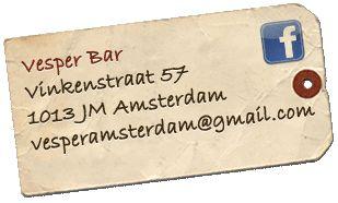 Vesper Bar Amsterdam