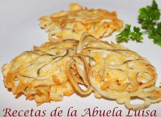 TORTILLITAS DE GULAS : Recetas de la Abuela Luisa