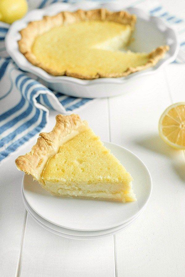 Old Fashioned Buttermilk Lemon Pie Lemon Pie Recipe Chess Pie Recipe Buttermilk Recipes