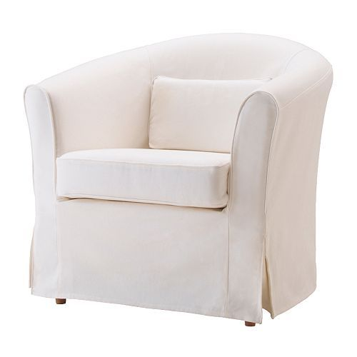 EKTORP TULLSTA Chair IKEA Easy to keep clean with a removable,machine washable cover. The pillow provides comfortable lumbar support.