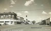 Street Scene, Mineola, Texas 1950s