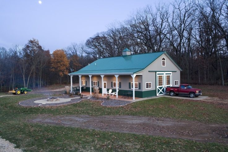 48 best images about cabins on pinterest cabin kits for Morton building cabin