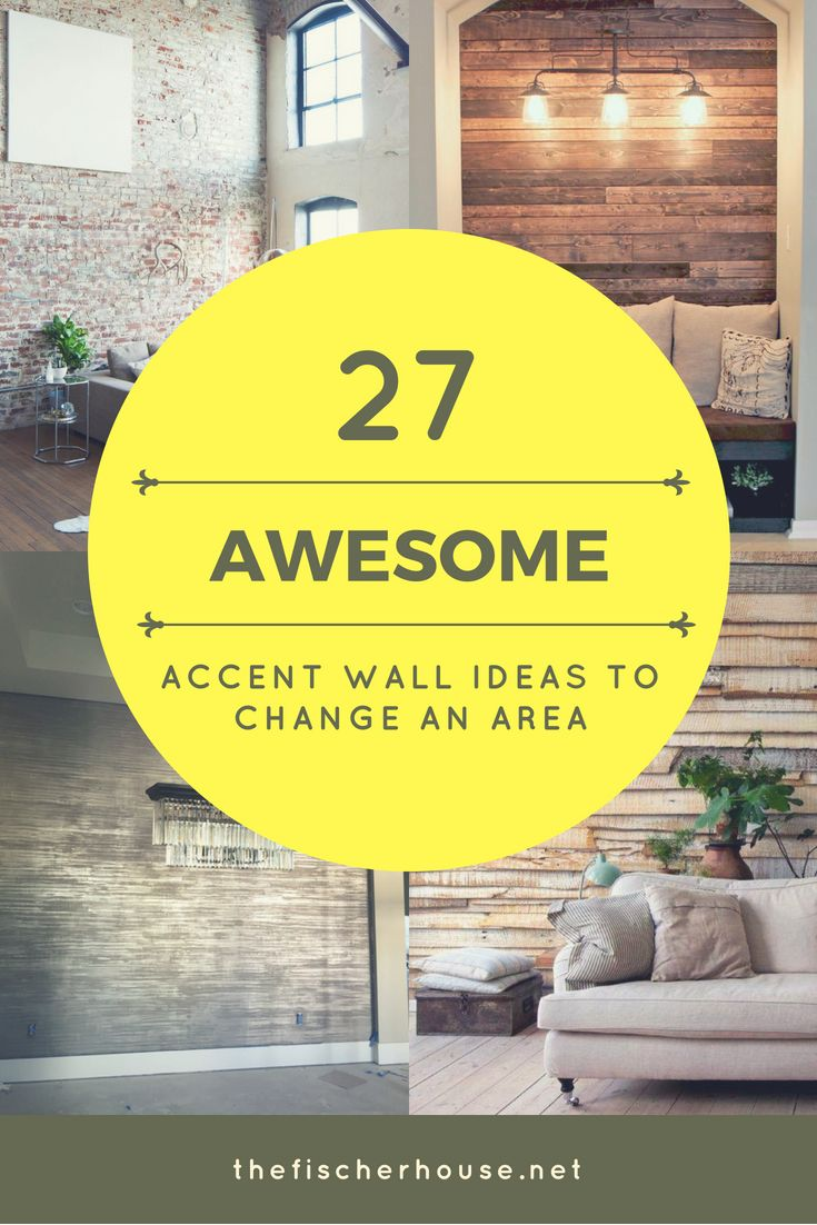 147 best Awesome Accent Wall Ideas images on Pinterest | Accent wall ...