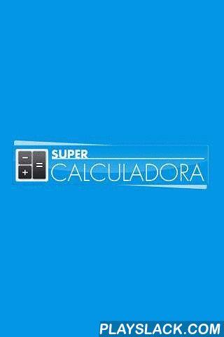 Super Calculadora  Android App - playslack.com , A Super Calculadora é um aplicativo destinado a simulação de diversos tipos de cálculos, entre eles Trabalhistas, Imobiliários, Matemáticos, Veiculares, Financeiros e Saúde, que lhe ajudará em diversas situações do dia a dia.- Simulador de Cálculos Trabalhistas (Saldo do FGTS, Salário Líquido, Décimo Terceiro, Hora Trabalhada...)- Simulador de Cálculos Imobiliários (ITBI, ITCD, Consório, Financiamentos SAC e PRICE)- Simulador de Cálculos…