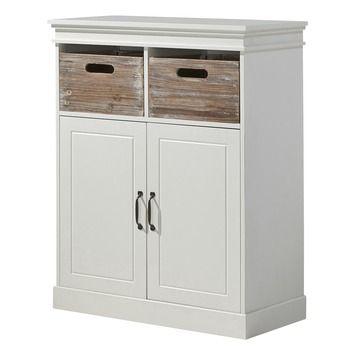 Avignon halkast hout wit 100x80x40 cm in de beste prijs-/kwaliteitsverhouding, volop keuze bij GAMMA