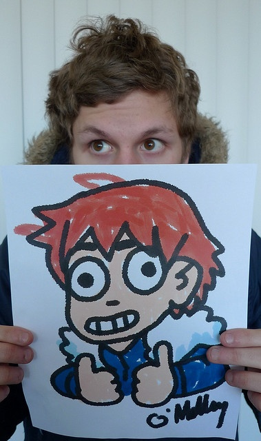 michael cera's alter ego scott pilgrim